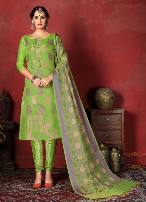 Banarasi Silk Weaving Salwar Suit