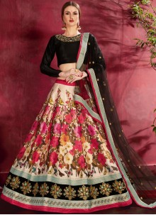 Banglori Silk Embroidered Designer Lehenga Choli