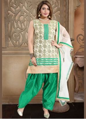 Banglori Silk Fancy Readymade Suit
