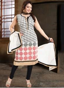 Banglori Silk Party Churidar Suit