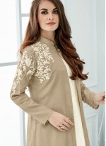 Baronial Cotton   Embroidered Work Party Wear Kurti