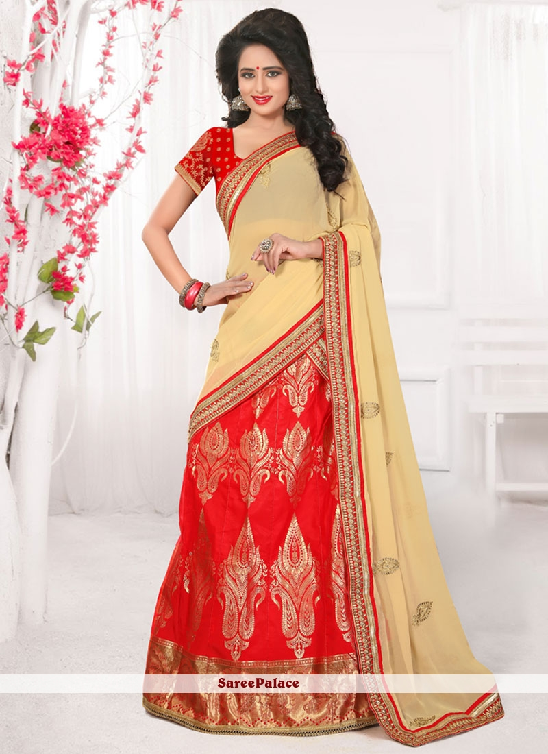 Beauteous Banarasi Silk Embroidered Work Lehenga Choli