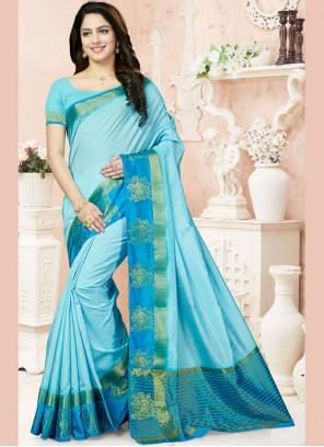 Beauteous Weaving Work Designer Traditional Saree