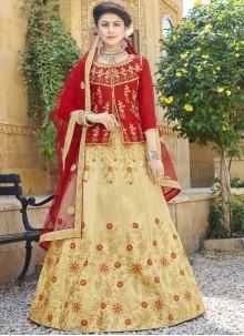 Beige Color Trendy Lehenga Choli