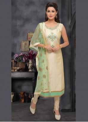 Beige Color Trendy Salwar Kameez