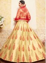 Beige Designer Lehenga Choli