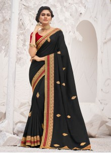 Black Border Trendy Saree