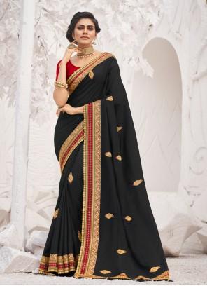 Black Border Trendy Saree
