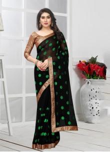Black Color Casual Saree