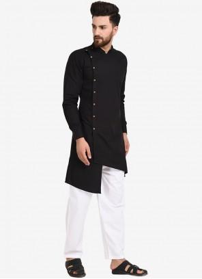 Black Color Kurta Pyjama