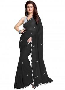 Black Fancy Saree