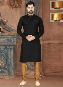 Black Sangeet Kurta Pyjama