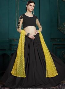 Black Sequins Trendy Lehenga Choli