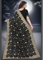 Black Wedding Classic Designer Saree