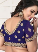 Blue Classic Designer Saree