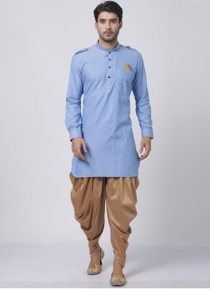 Blue Color Dhoti Kurta