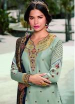 Blue Designer Pakistani Suit
