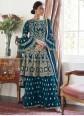 Blue Designer Salwar Kameez