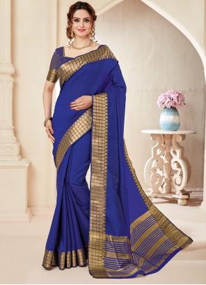 Blue Fancy Casual Classic Saree