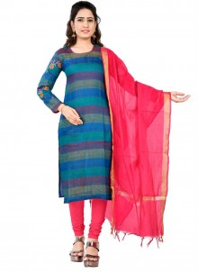 Blue Party Designer Salwar Kameez