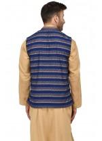 Blue Print Nehru Jackets
