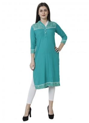 Blue Salwar Kameez