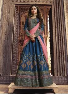 Blue Sangeet Designer Lehenga Choli