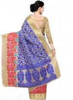 Blue Traditional Designer Saree