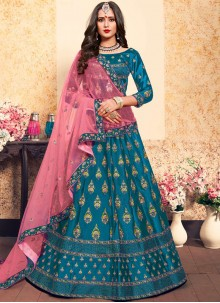 Blue Trendy Lehenga Choli