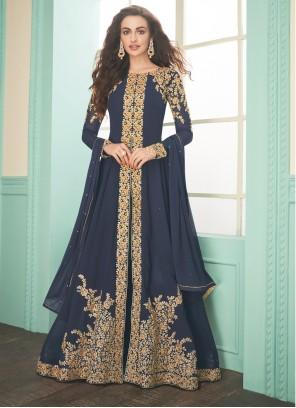 Blue Wedding Salwar Suit