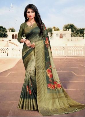 Bollywood Multi Colour Saree For Festival