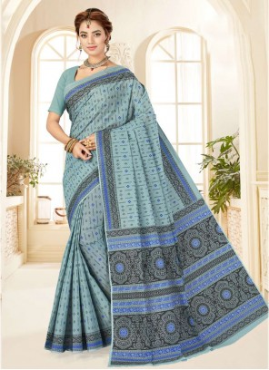Bollywood Multi Colour Saree For Party