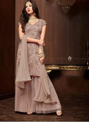 Brown Color Salwar Suit