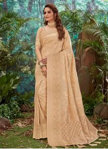 Brown Trendy Saree