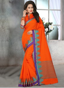 Capricious Cotton   Thread Work Classic Designer Saree