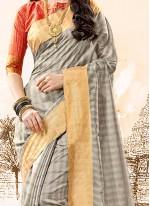 Capricious woven Work Traditional  Saree
