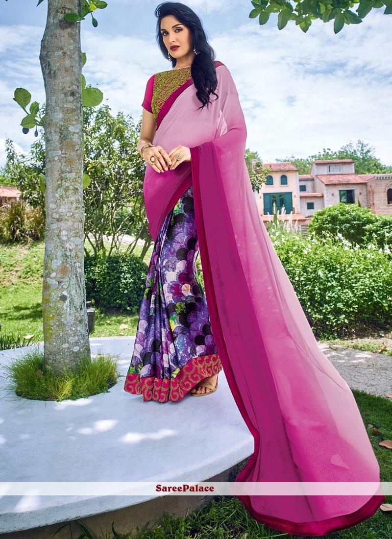 Casual Saree For Festival