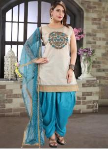 Chanderi Festival Designer Patiala Suit