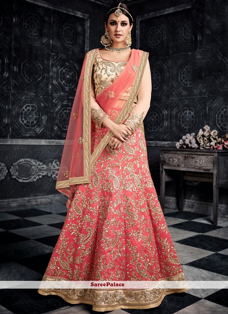 69bd730776 Buy Charismatic Rose Pink Lehenga Choli Online