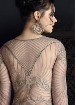 Charming Net Resham Work Long Choli Lehenga