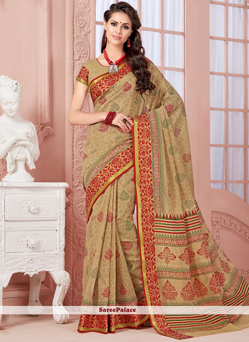 Cherubic Cotton   Casual Saree