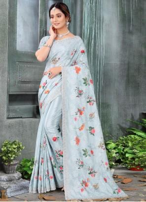 Chinon Engagement Classic Designer Saree