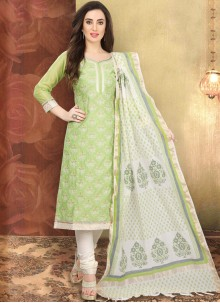 Churidar Designer Suit For Festival