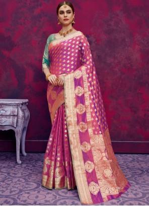 Classic Designer Saree For Mehndi