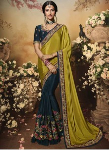 Classic Designer Saree For Reception