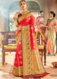 Pink Classic Saree For Wedding