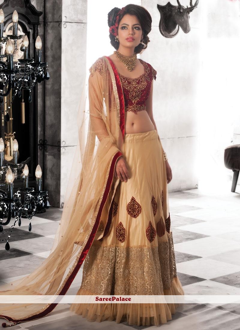 Classy Sequins Work Net Lehenga Choli