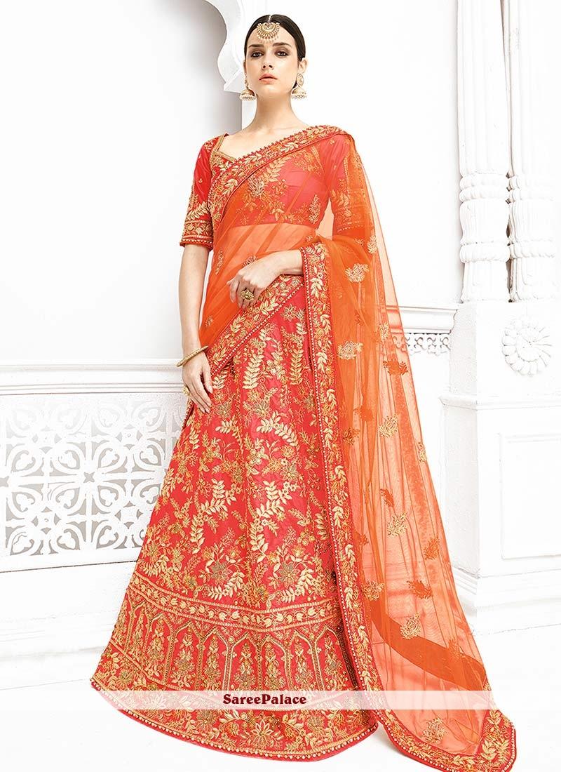 37aab980be1a Buy Compelling Pink Banarasi Silk Lehenga Choli Online