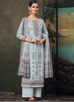 Cotton Digital Print Designer Salwar Kameez