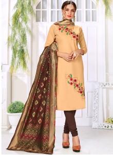 Cotton Embroidered Trendy Salwar Kameez